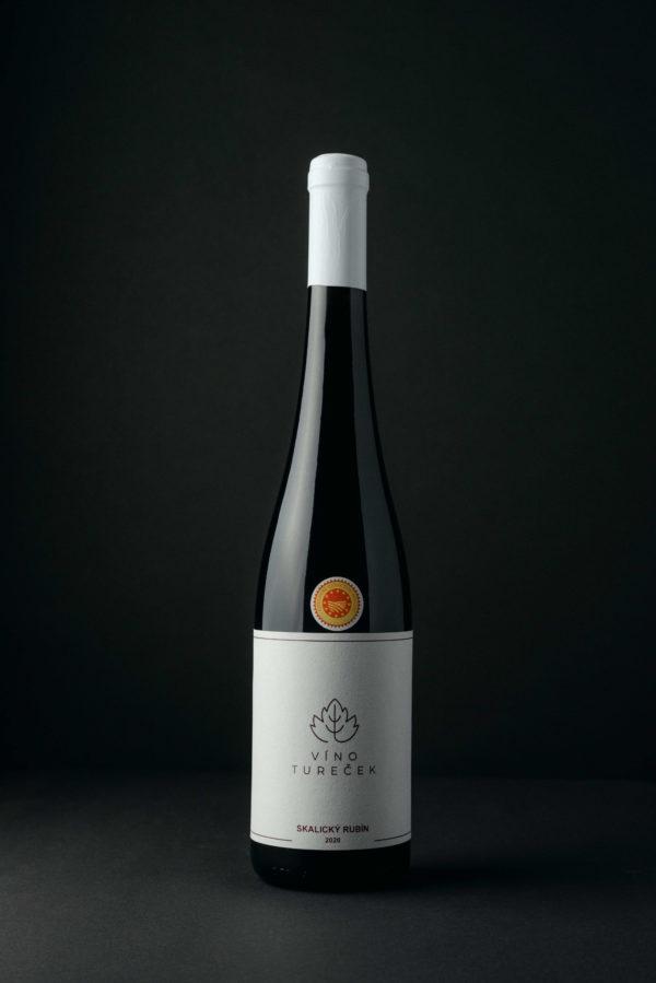Skalický Rubín (Červené Suché víno)
